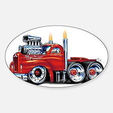 MackBmodelPrimeFloat Sticker (Oval)