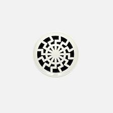 negbBlack_Sun Mini Button