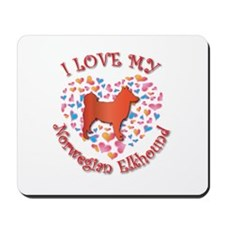 Love Elkhound Mousepad