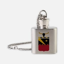 60th Air Defense Artillery Flask Necklace