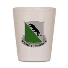 69th Armor Regiment Shot Glass