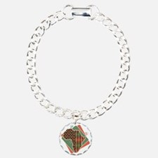 37001743 Charm Bracelet, One Charm