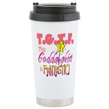 Fantastic Goddaughter Travel Coffee Mug