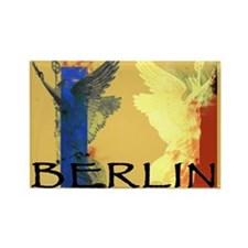Berlin, Germany Victory Angels Rectangle Magnet
