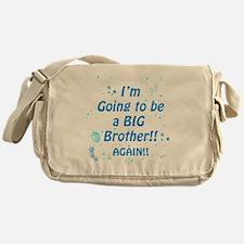 bigbroagainblue Messenger Bag