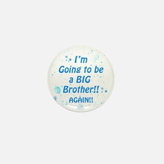 bigbroagainblue Mini Button
