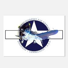 Corsair Pacific Star Dark Postcards (Package of 8)