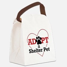 Adopt a Shelter Pet Canvas Lunch Bag