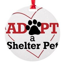 Adopt a Shelter Pet Ornament