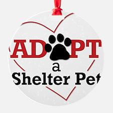 Adopt a Shelter Pet Ornament