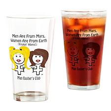 divorce men suck men-are-from-mars- Drinking Glass