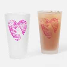 love_my_mom_mothers_day_2 Drinking Glass