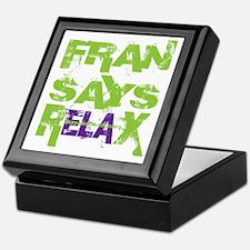 FSRX - Green Keepsake Box