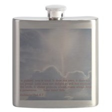 1 Corinthians 13-4 6 7  Clouds Flask