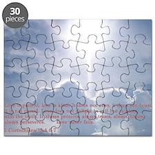 1 Corinthians 13-4 6 7  Clouds Puzzle