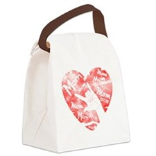 love_my_mom_mothers_day Canvas Lunch Bag