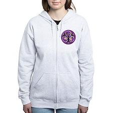 Goddess of the Purple Moon Zip Hoodie