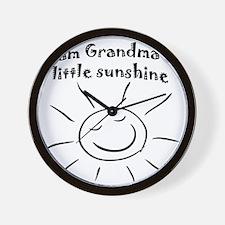 GMAsunshine Wall Clock