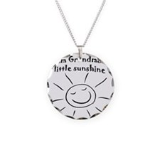 GMAsunshine Necklace Circle Charm