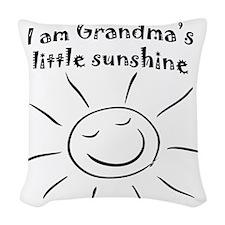 GMAsunshine Woven Throw Pillow
