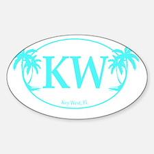 KW LogoDRK Sticker (Oval)