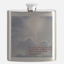 Ephesians 5-8  Clouds Flask
