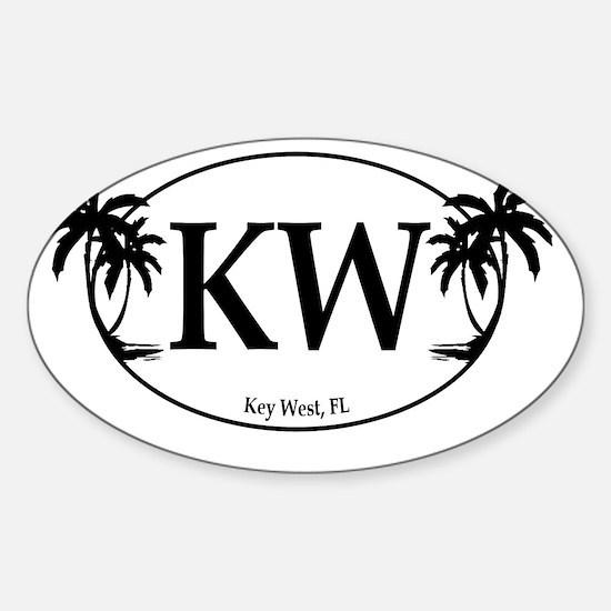 KW Logo Sticker (Oval)
