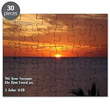 1 John 4-19  Sunrise Puzzle