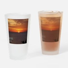 1 John 4-19  Sunrise Drinking Glass