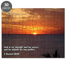 2 Samuel 22-33  Sunset Puzzle