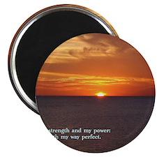 2 Samuel 22-33  Sunset Magnet