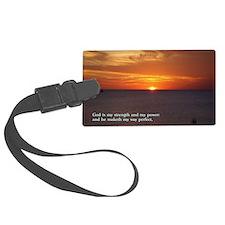 2 Samuel 22-33  Sunset Luggage Tag