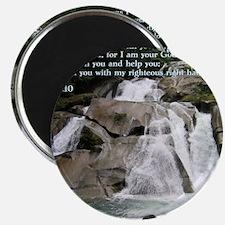 Isaiah 41-10  Waterfall Magnet