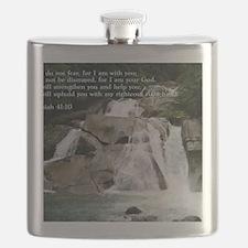 Isaiah 41-10  Waterfall Flask