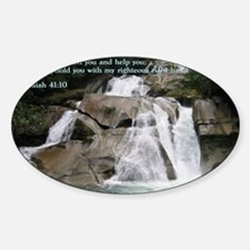 Isaiah 41-10  Waterfall Decal