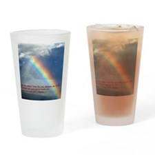 Jeremiah 29-11 Rainbow Drinking Glass