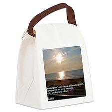 Jeremiah 29-11 Sunrise Canvas Lunch Bag