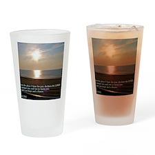 Jeremiah 29-11 Sunrise Drinking Glass