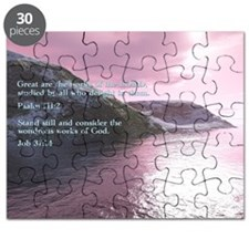 Job 37-14  Sunrise Puzzle