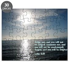 Luke 6-37  Sunset Puzzle