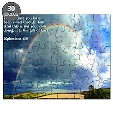 Ephesians 2-8  Rainbow Puzzle