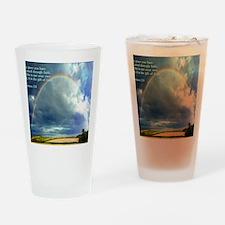 Ephesians 2-8  Rainbow Drinking Glass