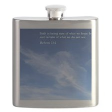 Hebrew 11-1  Clouds Flask
