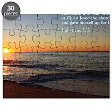 Ephesians 5-25  Sunrise Puzzle