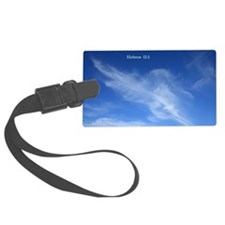 Hebrew 11-1  Clouds Luggage Tag