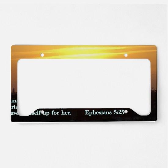 Amazoncom Christian License Plate Frames
