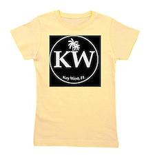 KW Logo Circ Girl's Tee