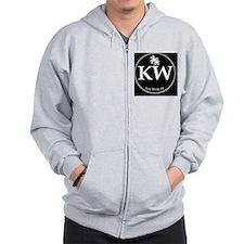 KW Logo Circ Zip Hoodie