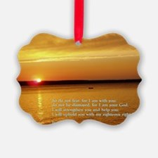 Isaiah 41-10  Sunset Ornament