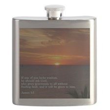 James 1-5  Sunset Flask